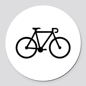 Bicycle bike Round Car Magnet