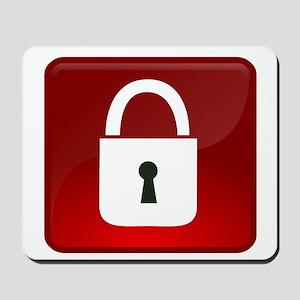 Locked Icon Mousepad