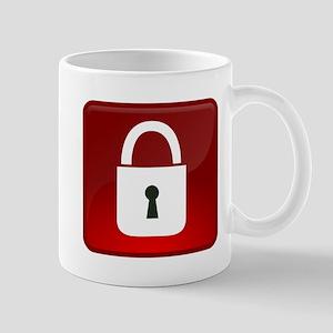 Locked Icon Mugs