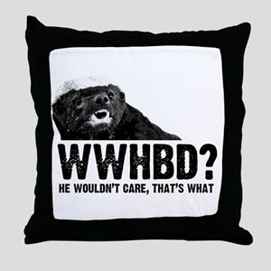 WWHBD Throw Pillow