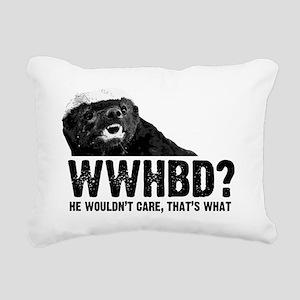 WWHBD Rectangular Canvas Pillow