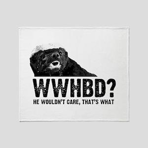 WWHBD Throw Blanket