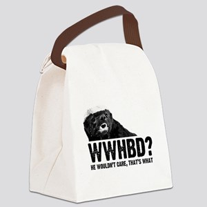 WWHBD Canvas Lunch Bag