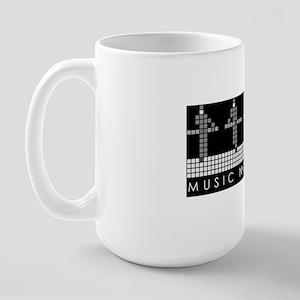 PIXEL8 | Music non stop | block Large Mug