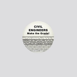 Civil Engineers Graded Mini Button