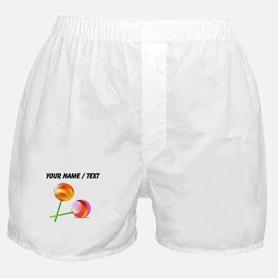 Custom Lollipops Boxer Shorts