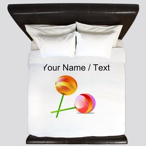 Custom Lollipops King Duvet