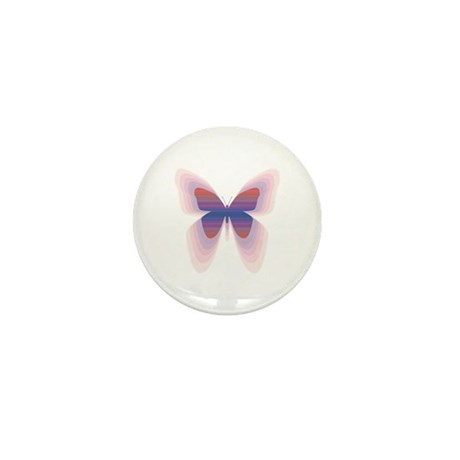 Butterfly Mini Button (100 pack)