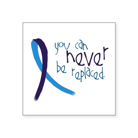 Suicide Awareness Never Replaced Sticker By Admin Cp8784644