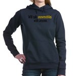 Talking Snowmobiles Hooded Sweatshirt