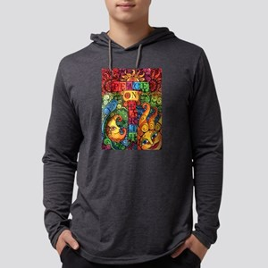 Peace on Earth Sun and Moon Long Sleeve T-Shirt