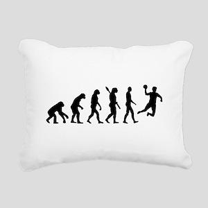 Evolution Handball Rectangular Canvas Pillow