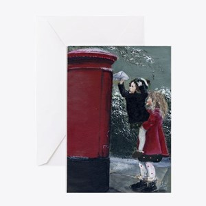 Christmas Special Delivery Greeting Card