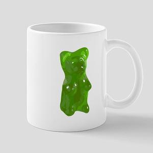 Green Gummy Bear Mugs