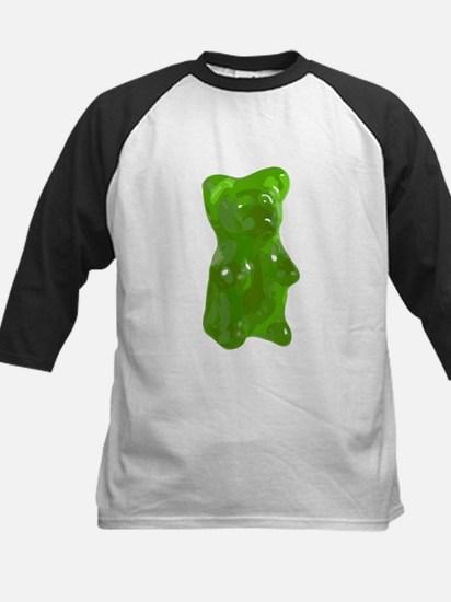Green Gummy Bear Baseball Jersey
