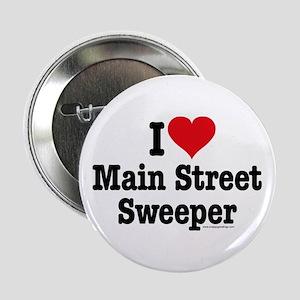I Heart Main Street Sweeper Button