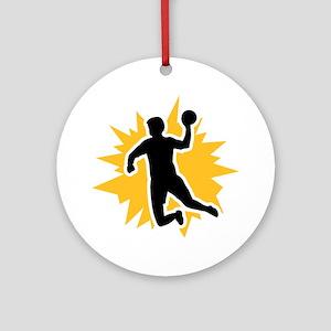 Dodgeball player Ornament (Round)