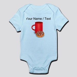 Custom Coffee And Donut Body Suit
