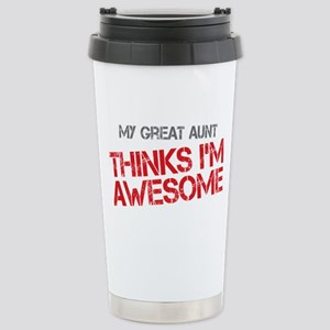 Great Aunt Awesome Stainless Steel Travel Mug