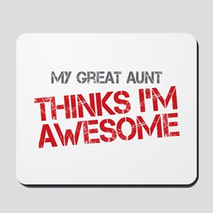 Great Aunt Awesome Mousepad