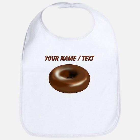 Custom Chocolate Donut Bib