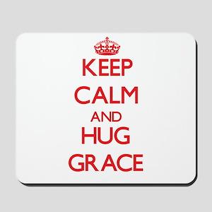 Keep Calm and Hug Grace Mousepad