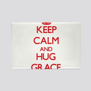 Keep Calm and Hug Grace Magnets