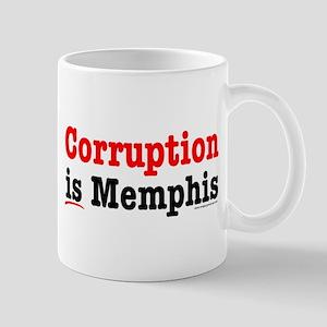 Corruption is Memphis Mug