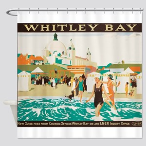 Whitley Bay, England, Travel, Vintage Poster Showe