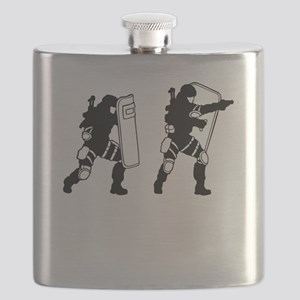 SWAT Team Flask