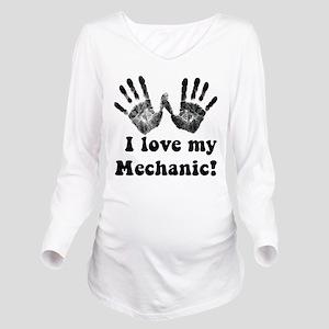 mechanic love Long Sleeve Maternity T-Shirt