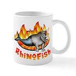 Rhinofish On Fire
