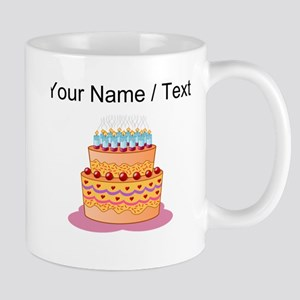 Custom Layered Cake Mugs