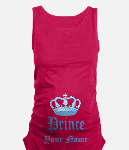 Custom Prince Maternity Tank Top