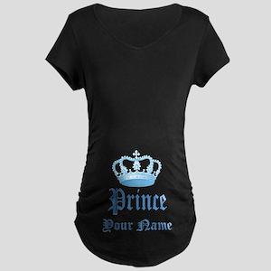 Custom Prince Maternity T-Shirt