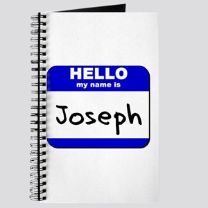 hello my name is joseph Journal