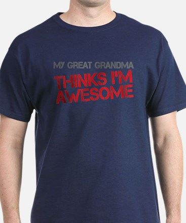 Great Grandma Awesome T-Shirt