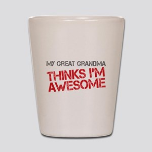 Great Grandma Awesome Shot Glass