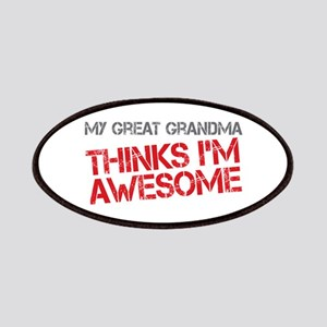 Great Grandma Awesome Patches