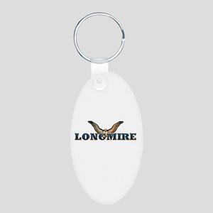 Longmire Aluminum Oval Keychain