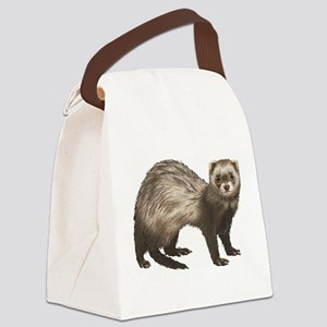 Ferret Canvas Lunch Bag