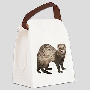 Ferret Canvas Lunch Bag