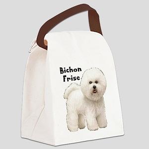 Bichon Frise Canvas Lunch Bag