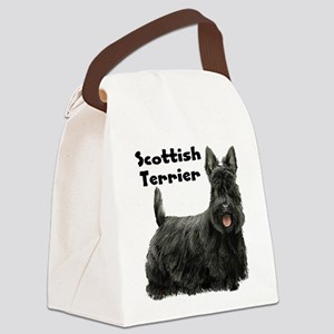 Scottish Terrier Canvas Lunch Bag