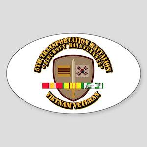 Army - 5th Transportation Battalion w SVC Ribbon S