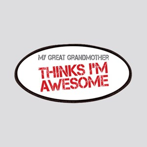 Great Grandmother Awesome Patches