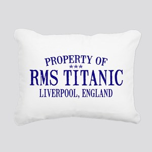 TITANIC PROPERTY Rectangular Canvas Pillow