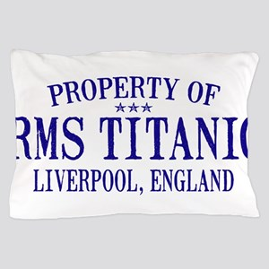 TITANIC PROPERTY Pillow Case