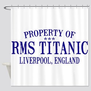 TITANIC PROPERTY Shower Curtain