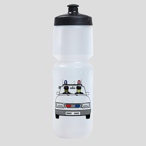 Police Car Sports Bottle